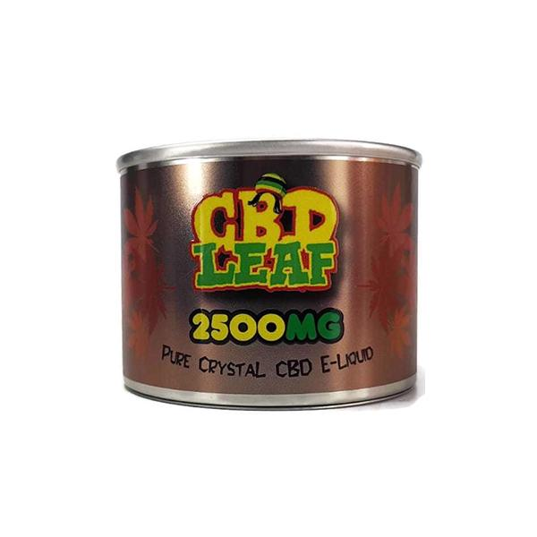 CBD Leaf Additives 2500mg 10ml