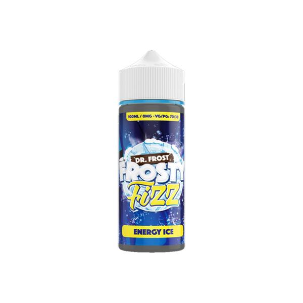 Dr Frost Frosty Fizz 0mg 100ml Shortfill (70VG/30PG)-E-Liquid-DR Frost-Energy Ice-Voodoo Vape