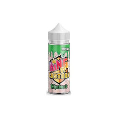 King of Custard 0mg 100ml Shortfill (70VG/30PG)-E-Liquid-King of Custard-Rhubarb-Voodoo Vape