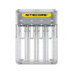 Nitecore New Q4 Charger -Black/Clear-ACCESSORIES-Nitecore-clear-Voodoo Vape