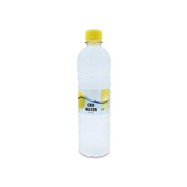 Plant Of Life CBD 10mg Lemon Flavoured Water-CBD Products-Plant of Life-1 x 500ml-Voodoo Vape