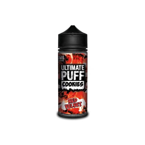 Ultimate Puff Cookies 0mg 100ml Shortfill (70VG/30PG)-E-Liquid-Ultimate Puff-Red Velvet-Voodoo Vape