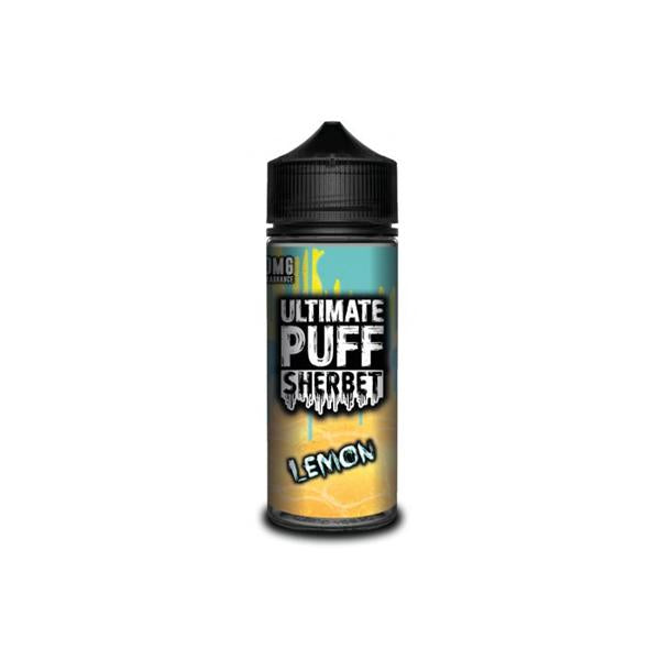 Ultimate Puff Sherbet 0mg 100ml Shortfill (70VG/30PG)-E-Liquid-Ultimate Puff-Lemon-Voodoo Vape