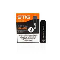 VGOD Stig Pod Disposable Vape Kits - 3 Pack-Kits-VGOD-Tropical Mango-Voodoo Vape