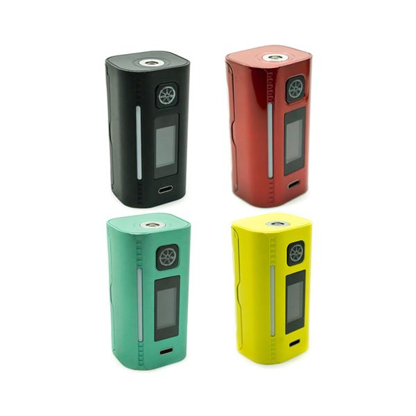 Asmodus Lustro 200W Box Mod-BATTERIES & MODS-Asmodus-Red-Voodoo Vape