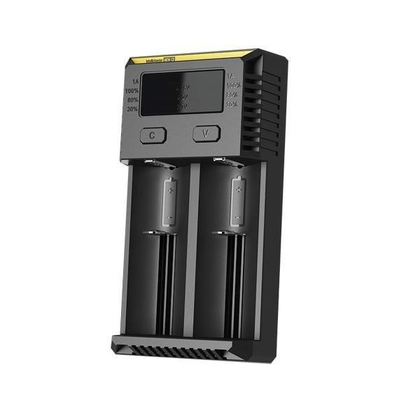 Nitecore New i2 IntelliCharger-ACCESSORIES-Nitecore-Voodoo Vape