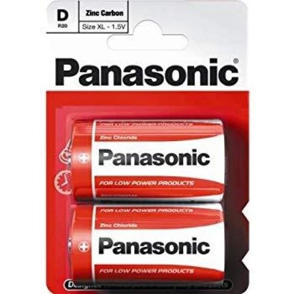 Panasonic D - R20 Mono Battery-Electronic & Mobile Accessories-Panasonic-Voodoo Vape