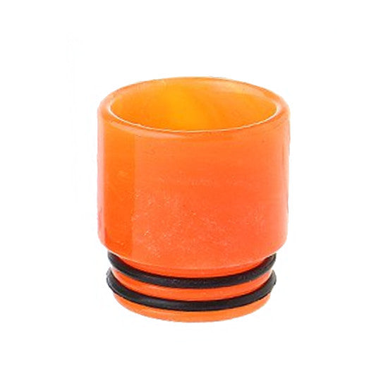 Resin Drip Tip - SMOK TFV8 / TFV12 /810 - Cloud Beast - Bright Orange