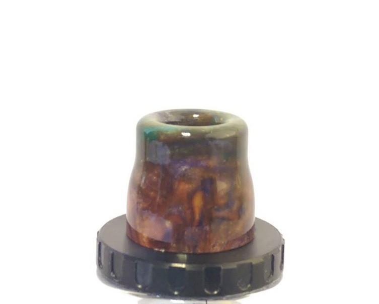 Aspire Cleito Drip Tips - Epoxy Resin - Various Unique Styles-ACCESSORIES-Aspire-Orange-Brown-Voodoo Vape