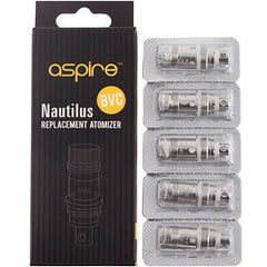Aspire Nautilus / Nautilus Mini - BVC Replacement Coils - 5 Pack