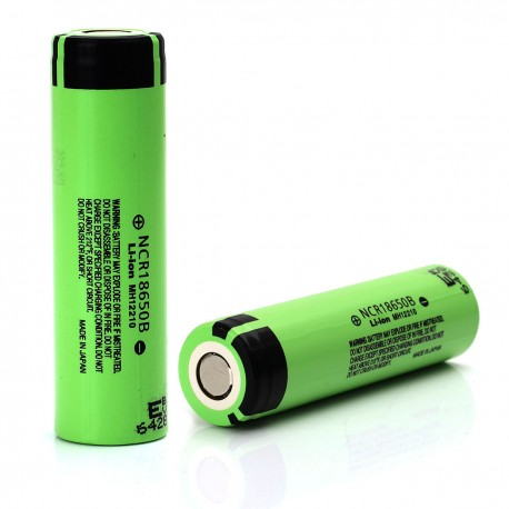 Panasonic 18650 NCR Li-ion Battery - NCR18650B - 3400mAh 6.4A-BATTERIES & MODS-Panasonic-Single Battery-Voodoo Vape