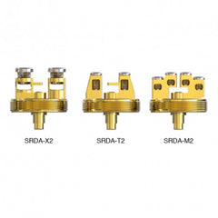 IJOY SRDA Build Deck - SRDA-X2, SRDA-T2, SRDA-M2 - Gold-plated Building Deck