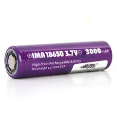 Efest BATTERIES & MODS EFEST IMR 18650 3000MAH 35A BATTERY - FLAT TOP