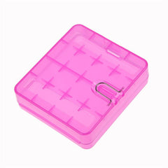 Battery Case for 18650 / 26650 Batteries - Protective Travel Box-ACCESSORIES-Voodoo Vape-Pink-Voodoo Vape