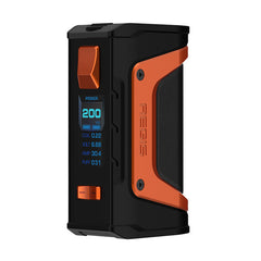 Geekvape Aegis Legend 200W TC Mod-BATTERIES & MODS-GeekVape-Black/Orange-Voodoo Vape