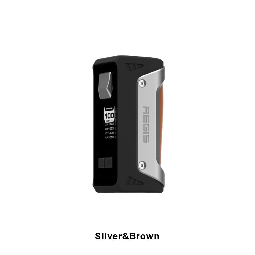 GeekVape BATTERIES & MODS Silver / Brown Geekvape AEGIS 100W TC Box Mod