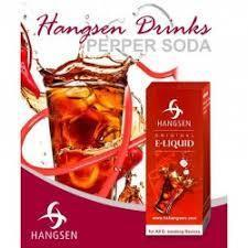 HANGSEN E-LIQUID Hangsen Pepper Soda (DR Pepper) E-Liquid - 10ml