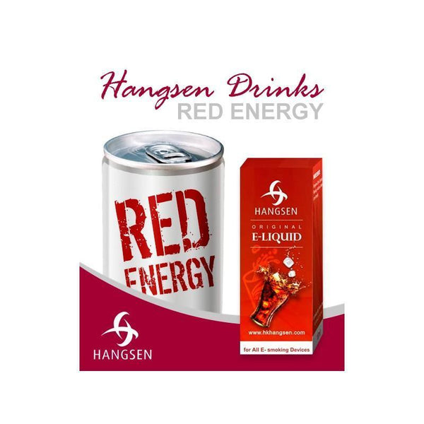 HANGSEN E-LIQUID Hangsen Red Energy E-Liquid - 10ml
