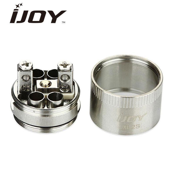 IJOY IJOY Limitless XL-2S Dual Coil RTA Deck 2-post Velocity build deck and Kennedy style airflow for Limitless XL Tank