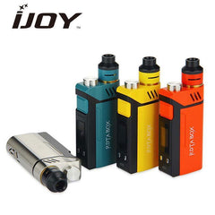 IJOY kits Authentic 200W IJOY RDTA BOX Kit - 12.8ml Capacity NI/TI/SS Temp Control with IMC Build Deck