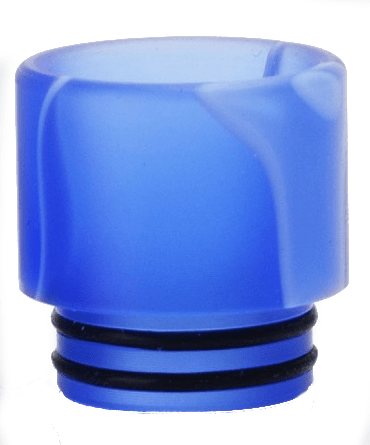 Acrylic Drip tip for Smok TFV8 Cloud Beast / TFV12 / Big Baby Beast - Blue & White Stripe-ACCESSORIES-SMOK-Voodoo Vape