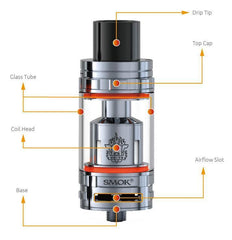Authentic Smoktech SMOK TFV8 Cloud Beast Tank 6ml-TANKS-SMOK-Stainless Steel-Voodoo Vape