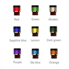 Uwell Crown 3 Drip Tip - 9 Colours-ACCESSORIES-Uwell-Red-Voodoo Vape