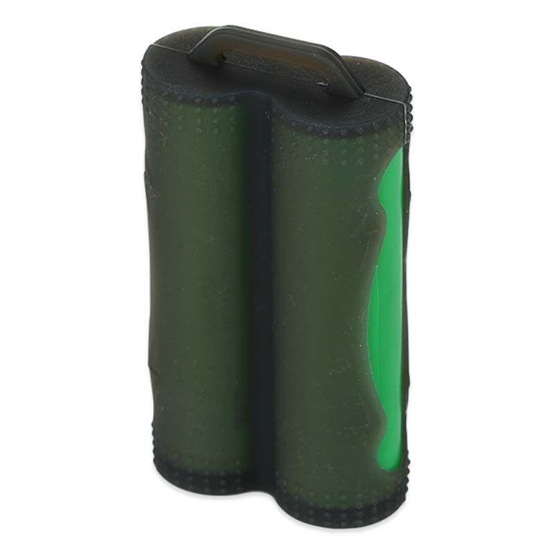 Dual / Twin 18650 Battery Protective Silicone Cover / Case-ACCESSORIES-Voodoo Vape UK-Black-Voodoo Vape