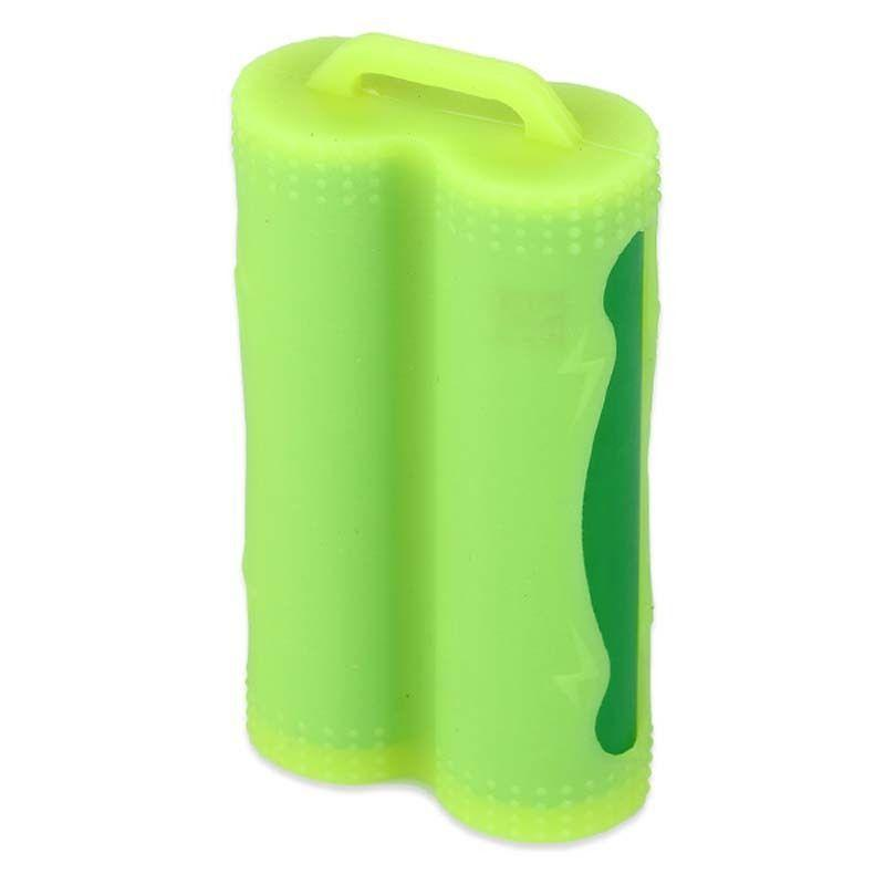Voodoo Vape UK ACCESSORIES Yellow Dual / Twin 18650 Battery Protective Silicone Cover / Case