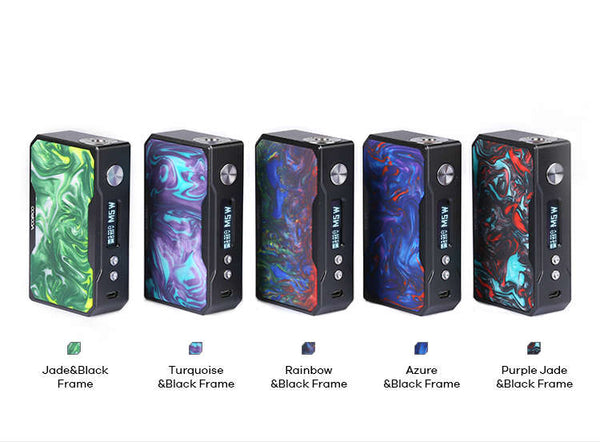 VOOPOO DRAG 157W TC Box MOD W/O Battery-BATTERIES & MODS-VOOPOO-Silver & Black-Voodoo Vape