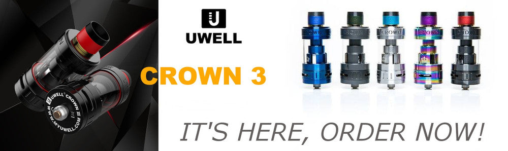 UWELL Crown 3 Has Arrived!