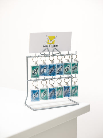Keyring Counter display Stand Single Sided-12KFI