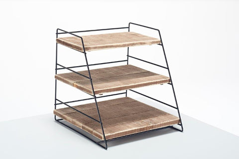 Wooden 3 Tier Counter Display