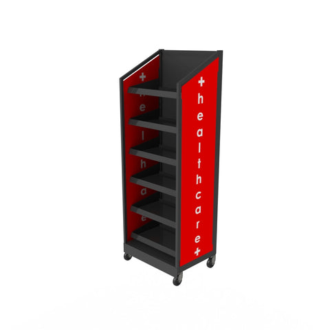 Multi Product, Health Care Display Stand