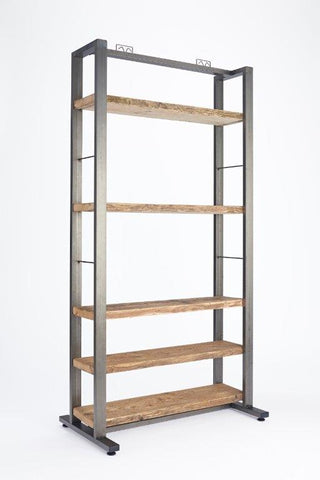 Wooden Shelving Unit 900mm Wide