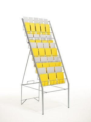 Display Space Saver Stand, 10 trays