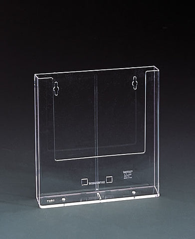 A4 Clear Pocket Counter or Wall Rack