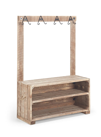 Child's Wooden Cloakroom