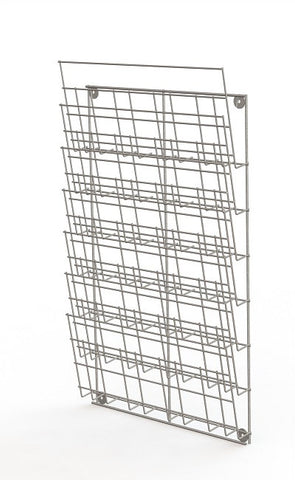 Leaflet Holder wallrack, Slatwall, Pegboard display for brochures