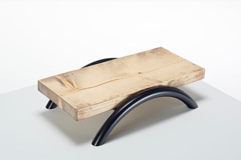 Wooden Single Shelf Counter Display