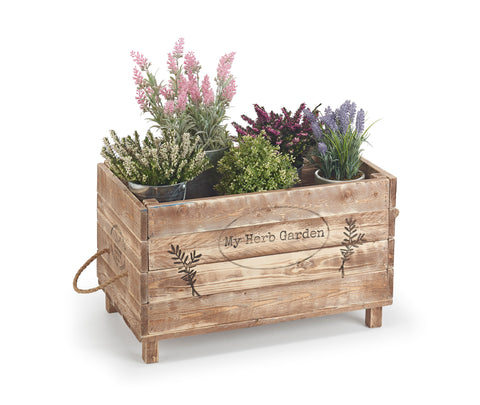 Wooden Herb Box