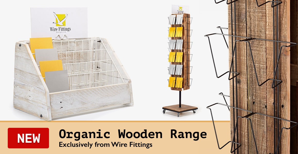 Organic Wooden Displays Range