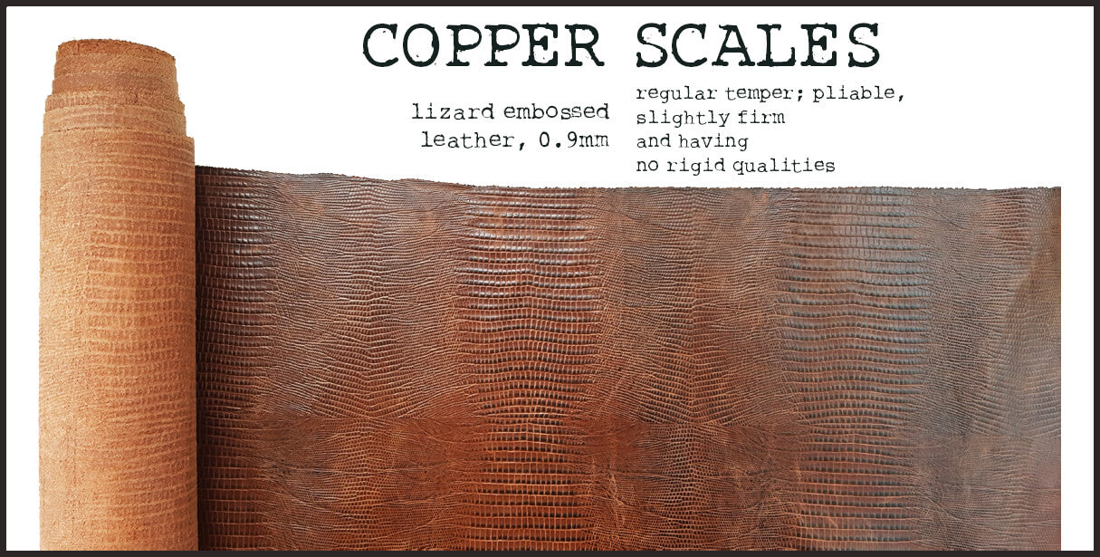 R.atelier Leather | Copper Scales