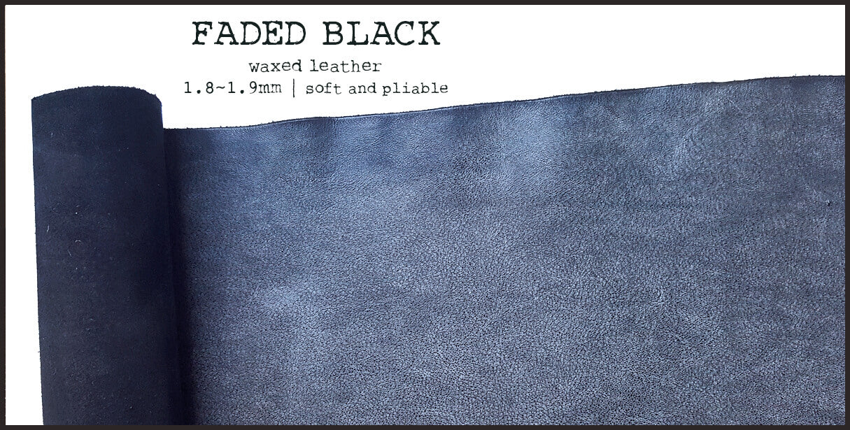 R.atelier Leather | Faded Black