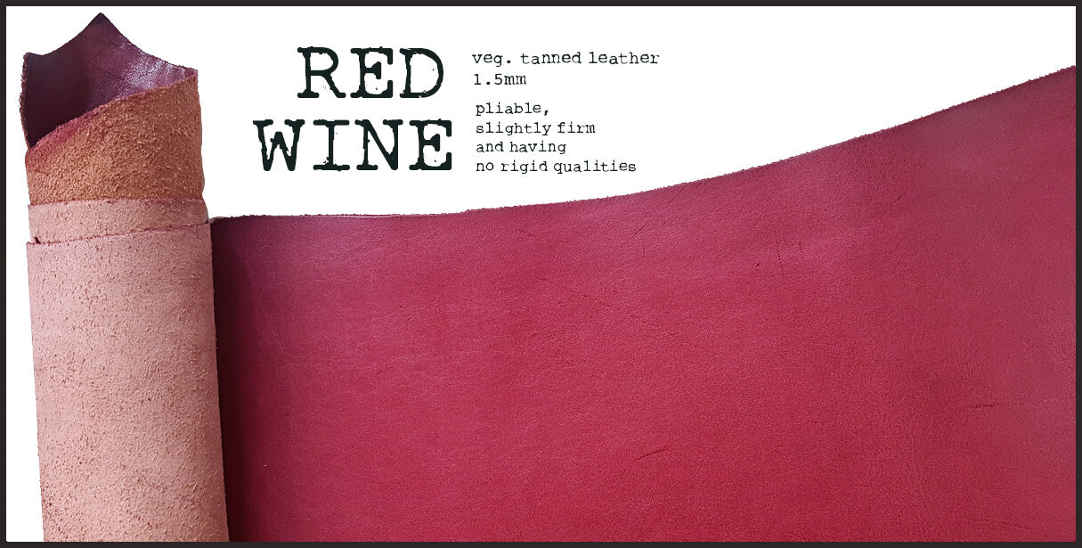 R.atelier Leather | Red Wine