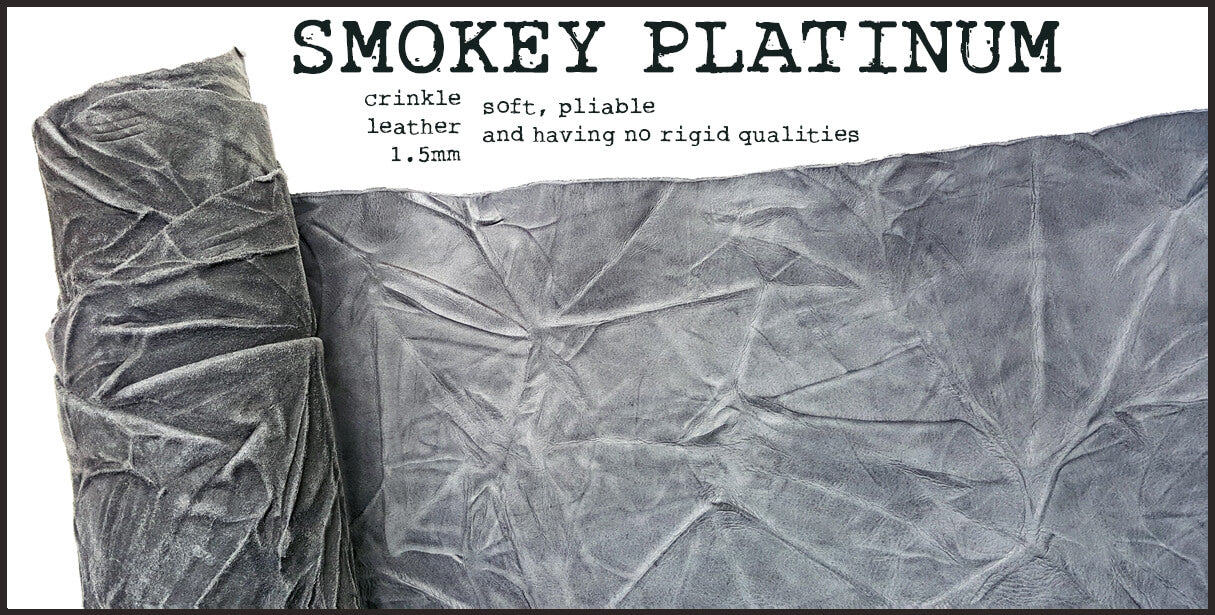 R.atelier Standard TN Leather Cover | Smokey Platinum