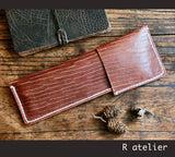 Handmade Leather Pencil Case | Pen Pouch