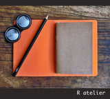 Midori Traveler's Notebook | Felt Journal Cover | Passport Size Starter Kit