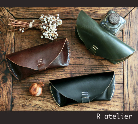 Handmade Leather Sunglasses/Eyeglasses Case