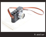 Handmade Leather Camera Strap | Classic Rangefinder Camera Strap